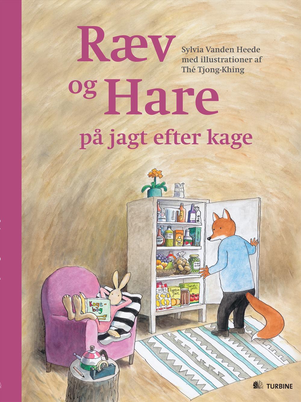 Ræv og Hare på jagt efter kage
