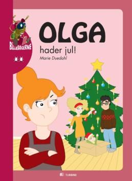 Olga hader jul!