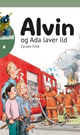 Alvin og Ada laver ild