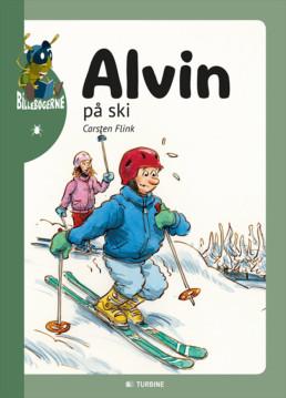 Alvin på ski