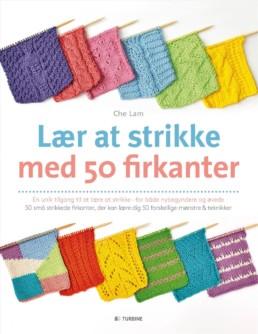 Lær at strikke med 50 firkanter