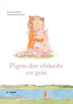 Pigen der elskede en gris