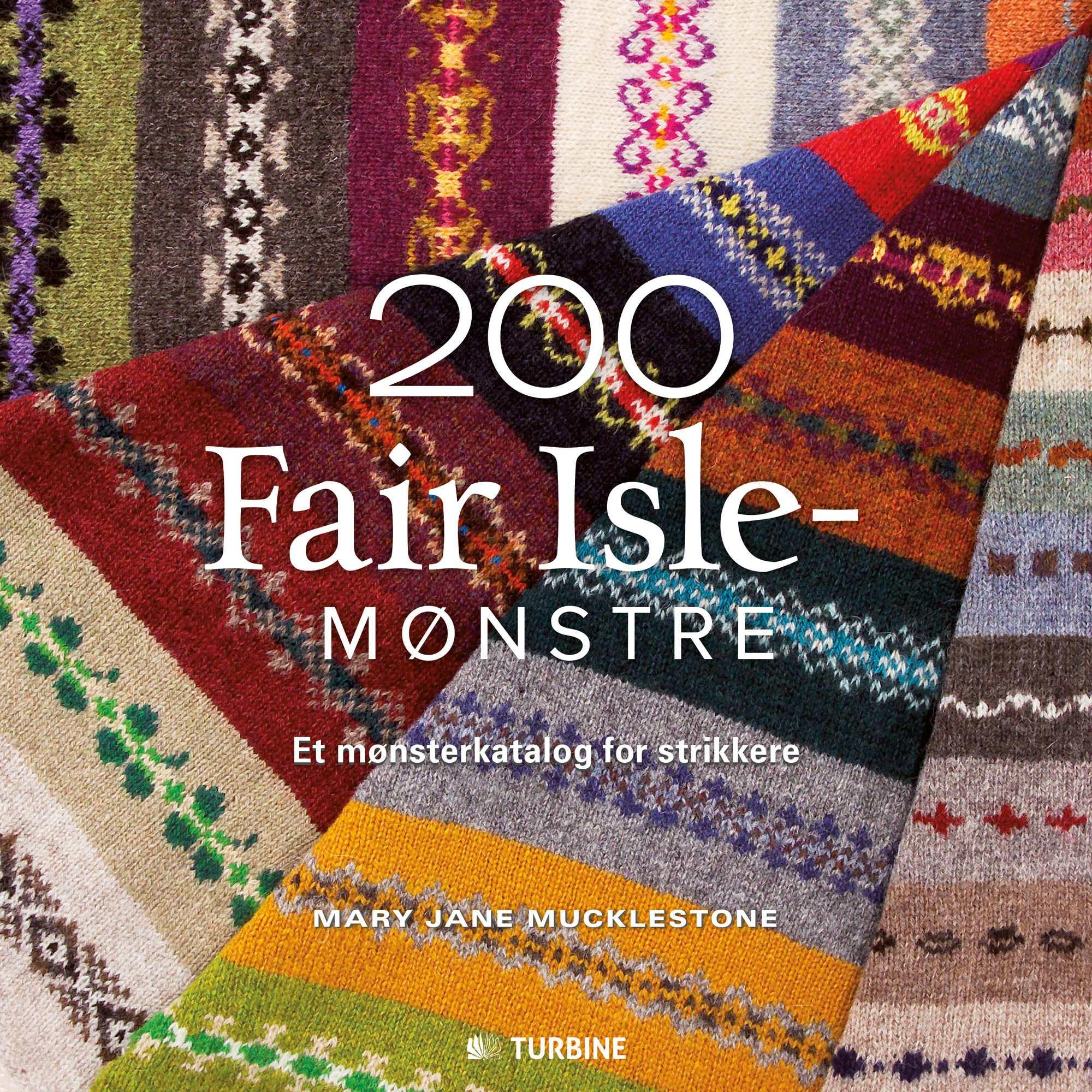 200 Fair Isle-mønstre