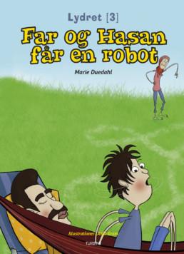 Far og Hasan får en robot