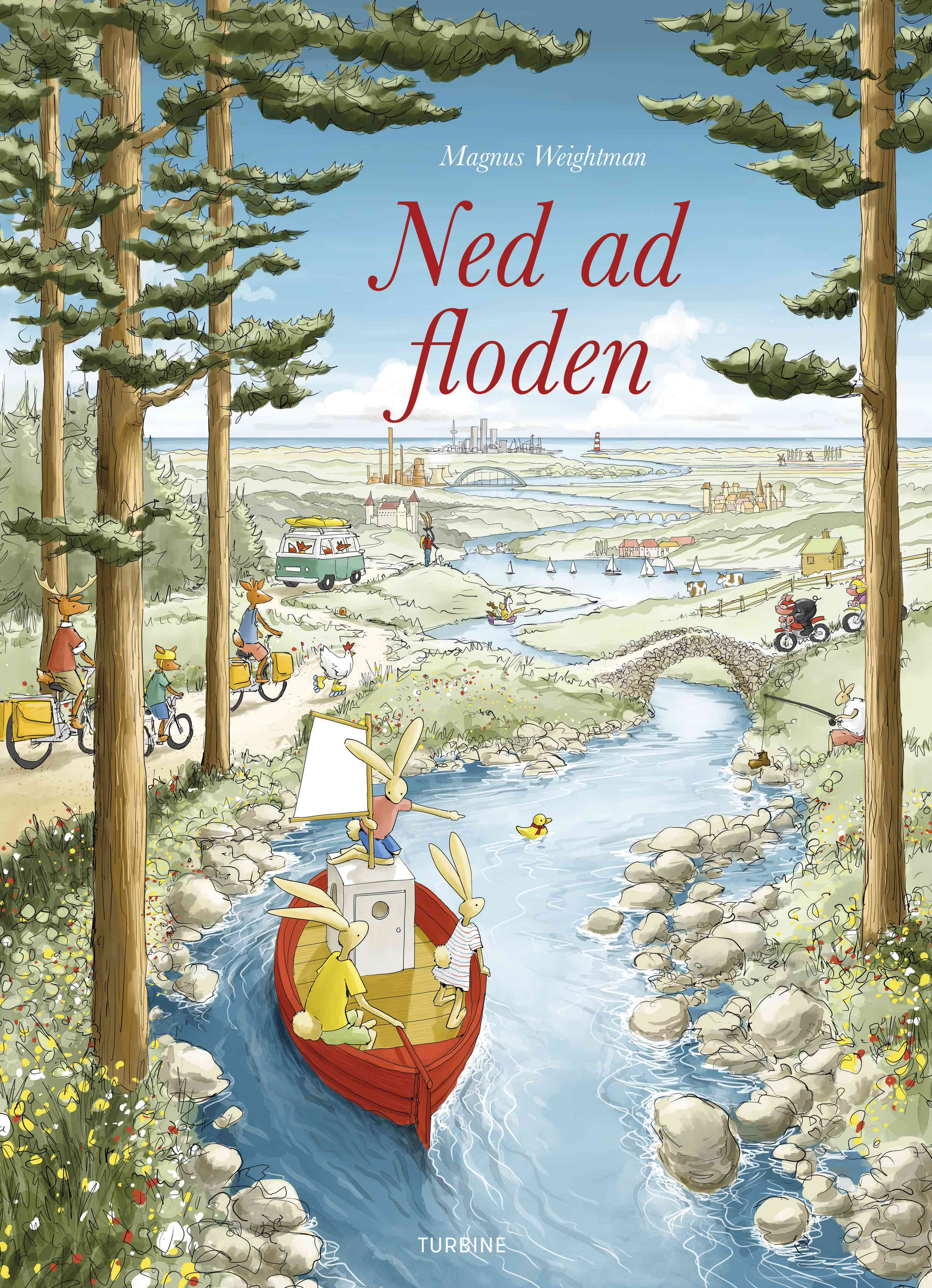 Ned ad floden