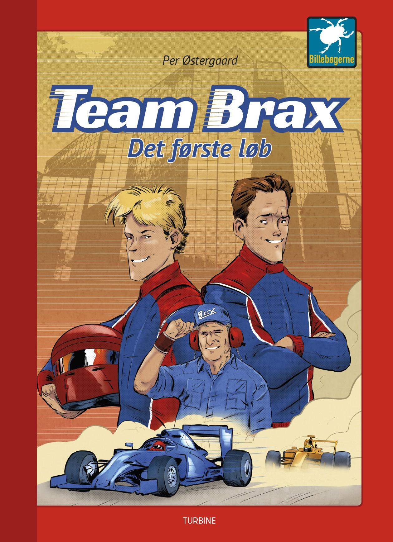 Team Brax - Det første løb