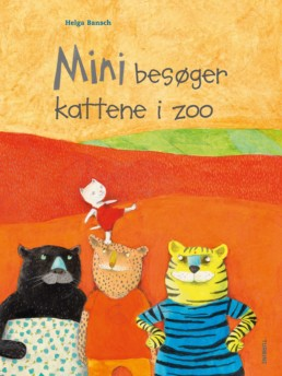 Mini besøger kattene i zoo