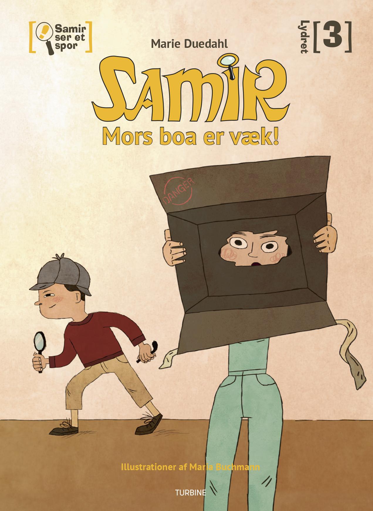 Samir ser et spor - Mors boa er væk!