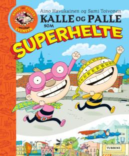 Kalle og Palle som superhelte
