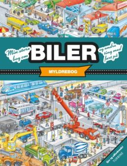 Min store bog om biler og andre ting med fart på