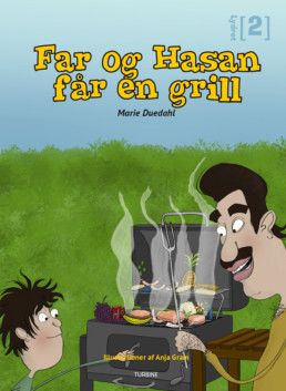 Far og Hasan får en grill
